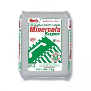 Argamassa Minercola 20Kg AC-III Piso sob Piso Cinza