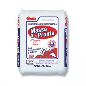 MASSA PRONTA 20 KG MINERCAL